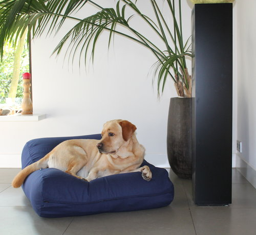 Dog's Companion Lit pour chien bleu foncé Large