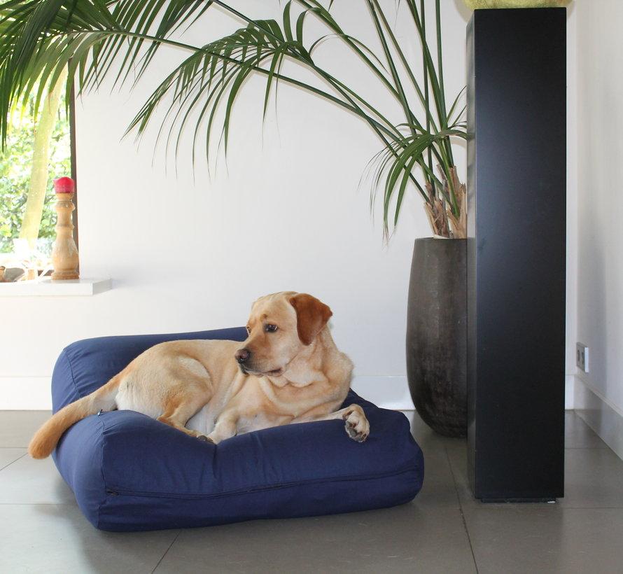 Dog bed dark blue Large
