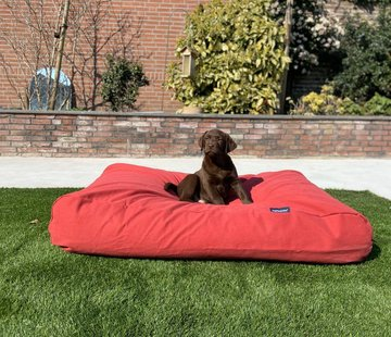 Dog's Companion Dog bed Brick-Red Medium