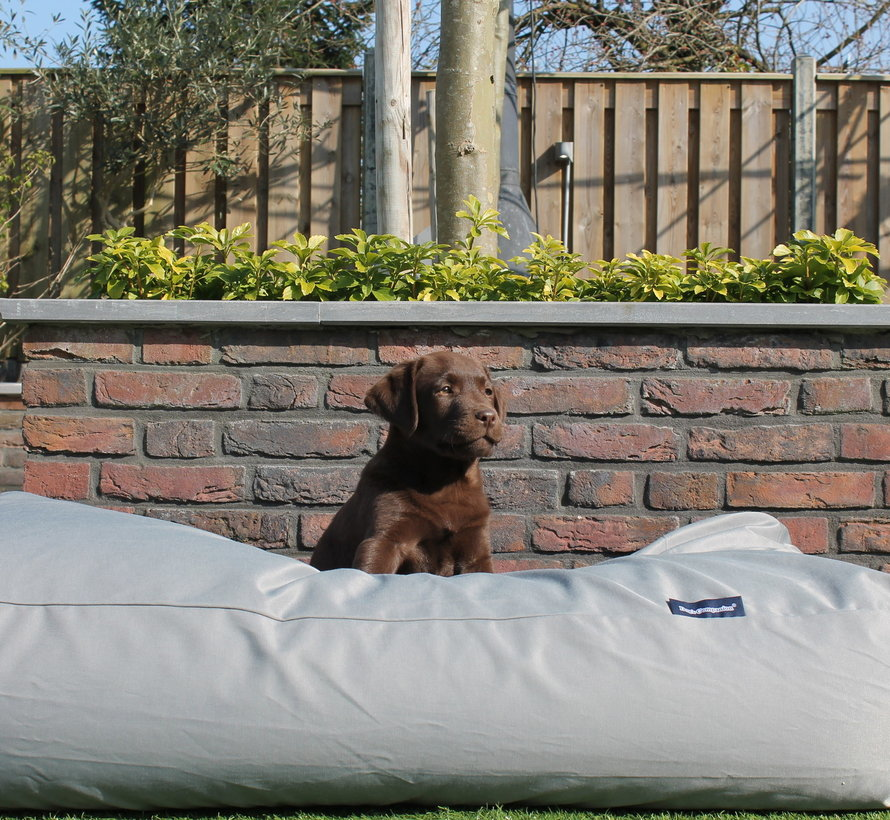 Hondenbed Lichtgrijs vuilafstotende coating Medium
