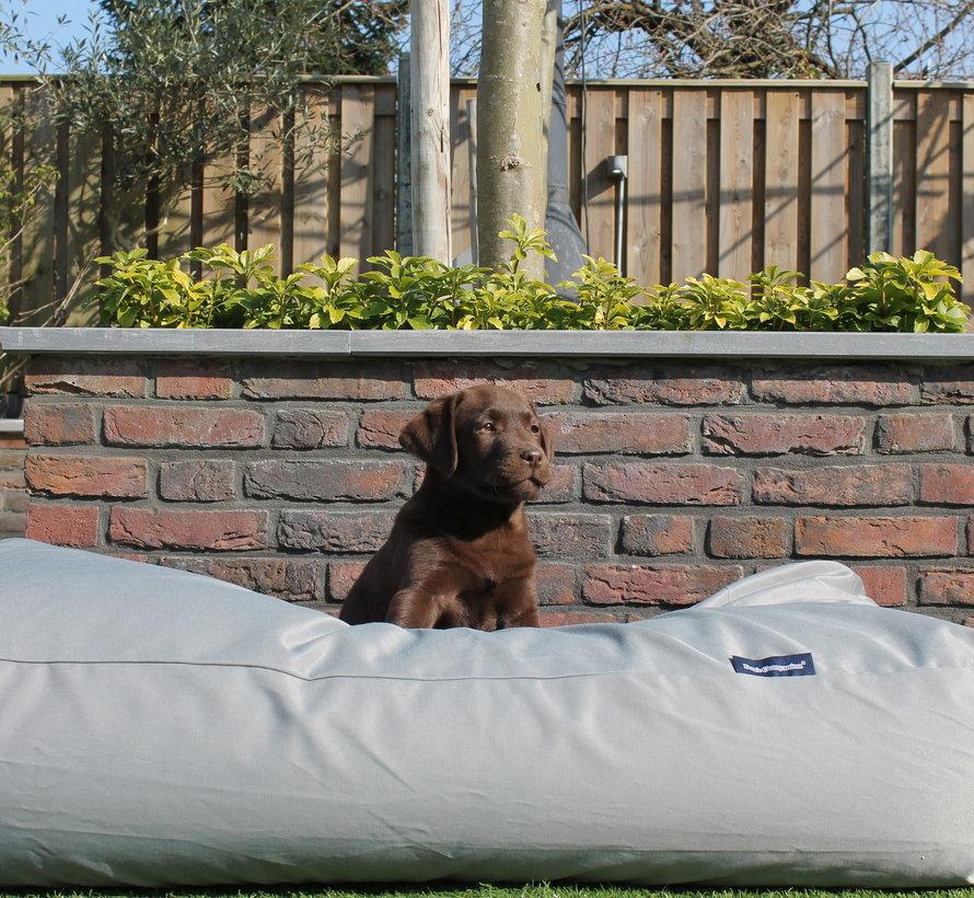 Hondenbed Lichtgrijs vuilafstotende coating Large