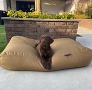 Dog's Companion Hondenbed khaki vuilafstotende coating