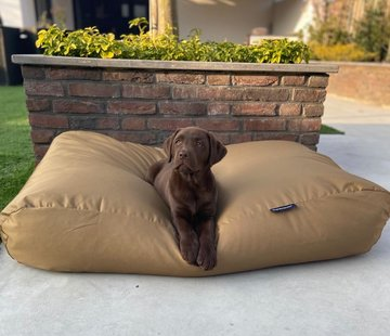 Dog's Companion Dog bed khaki (coating) Extra Small