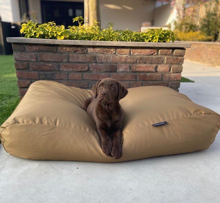 Hondenbed khaki vuilafstotende coating Superlarge