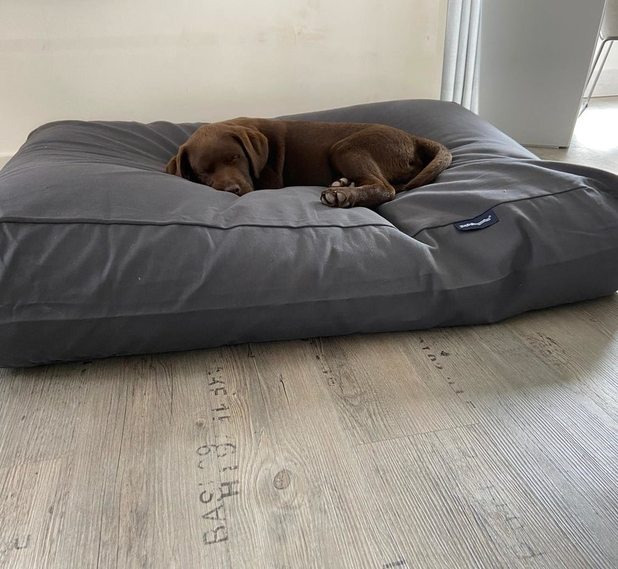 Dog bed Granite Grey Cotton medium