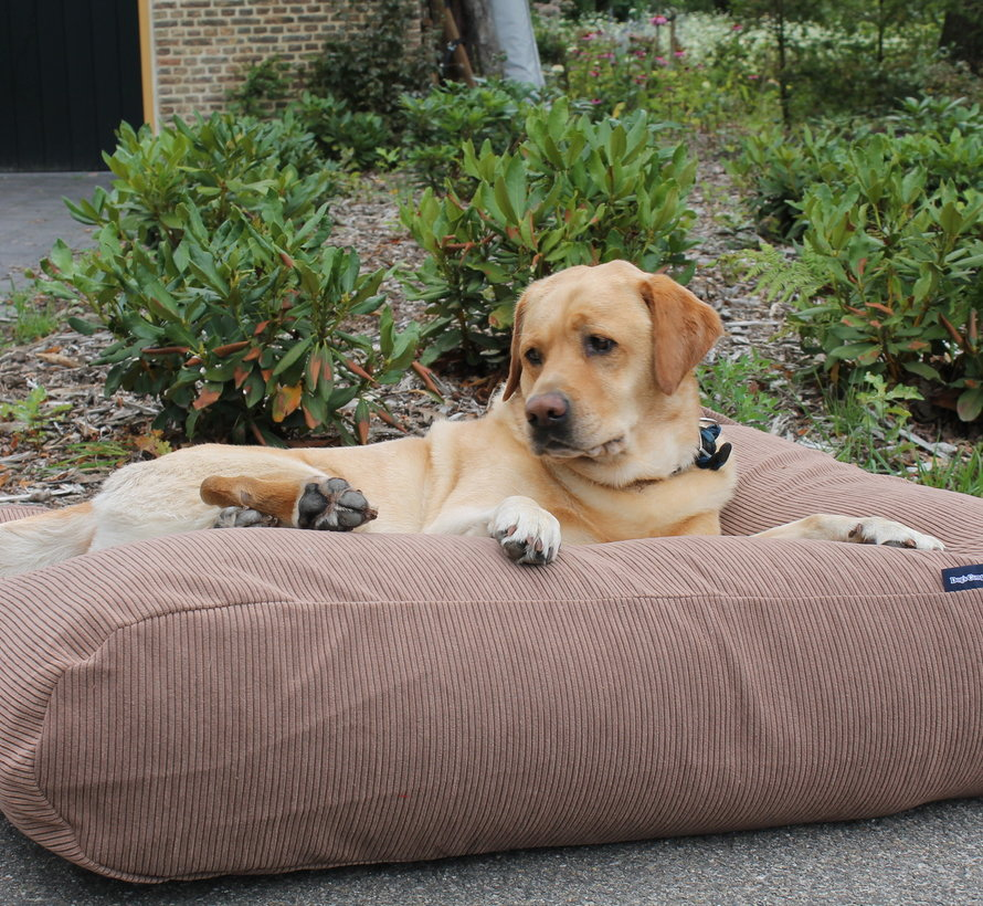 Dog bed Taupe (Corduroy) small
