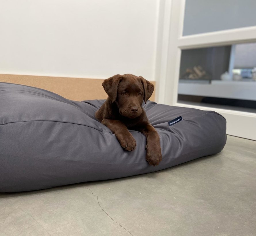 Dog bed Charcoal (coating)