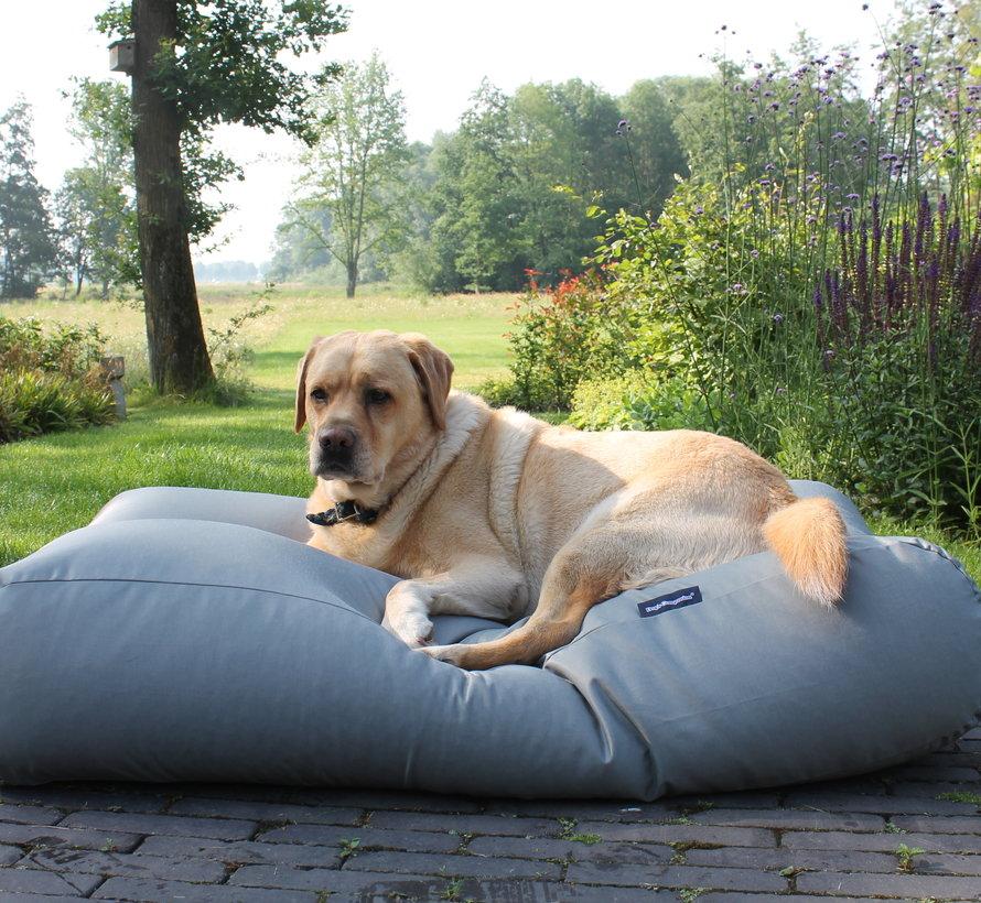Hondenbed Lichtgrijs vuilafstotende coating