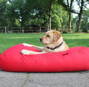 Dog's Companion Hondenbed rood vuilafstotende coating medium