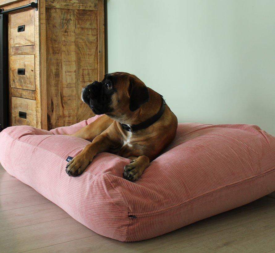 Lit pour chien vieux rose (corduroy)