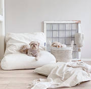 Dog's Companion Dog bed white sand