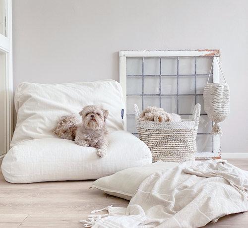 Dog's Companion Dog bed white sand