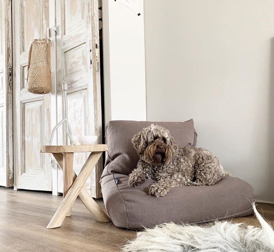 Lit pour chien Walnut Lin Extra Small
