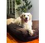 Hondenbed Chocolade Bruin Ribcord Superlarge
