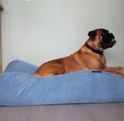 Dog's Companion Hundebett Hellblau (Cord) Medium