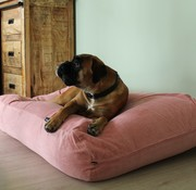 Dog's Companion Hondenbed Oud Roze Ribcord Small