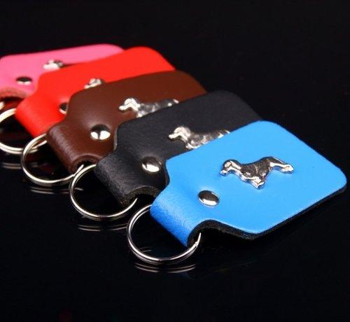 Dog's Companion Key Ring Teckel