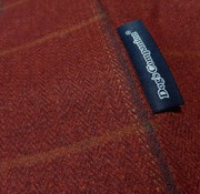 Dog's Companion Bezug Scottish Tweed Rot