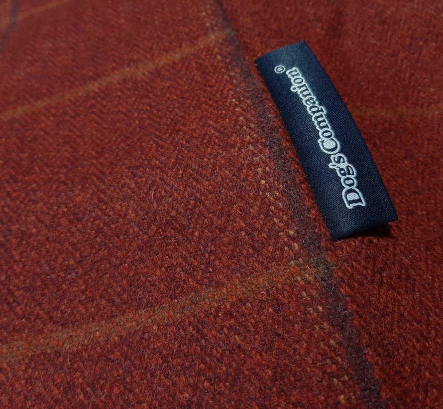 Losse hoes Scottish Tweed Red Small