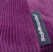 Dog's Companion Extra cover Purple Corduroy