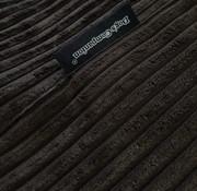 Dog's Companion Pre-order! Hondenbed Espresso giant ribcord