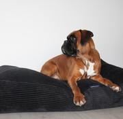 Dog's Companion Dog bed Black giant corduroy