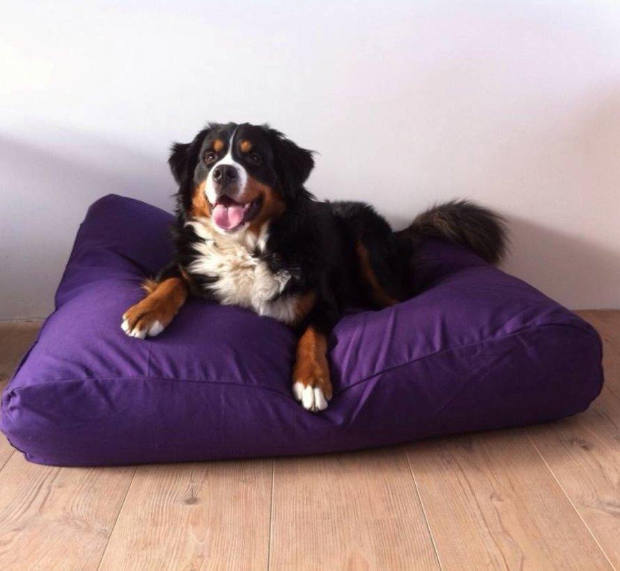 Lit pour chien violet
