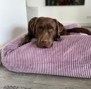 Dog's Companion Hondenbed Lavendel giant ribcord