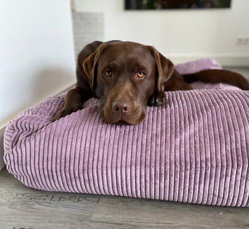 Dog's Companion Lit pour chien Lavende giant corduroy