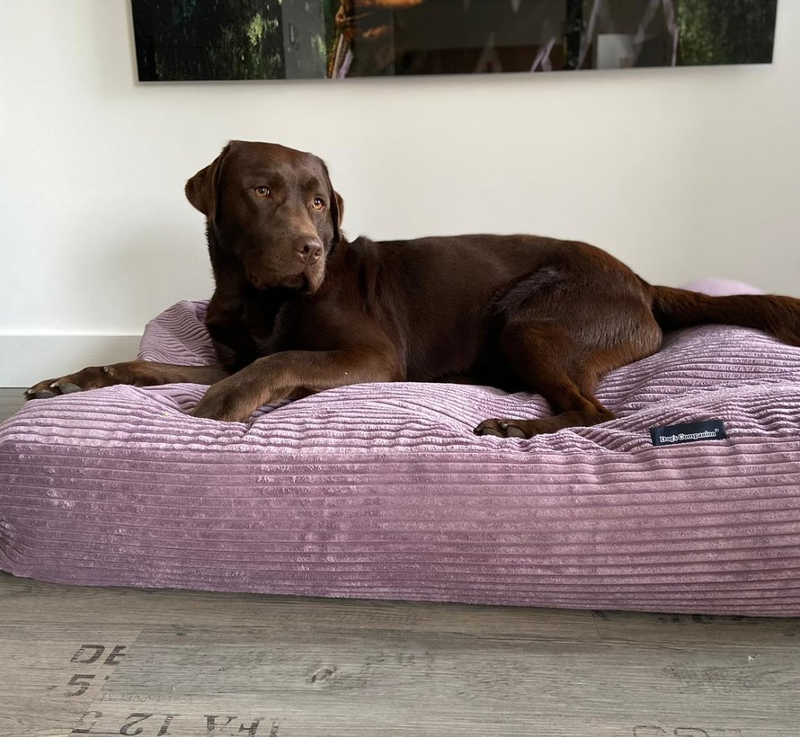 Lit pour chien Lavende giant corduroy