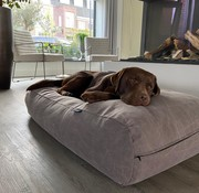 Dog's Companion Hundebett Stone washed brown
