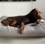 Dog's Companion Dog bed Stone grey linen look
