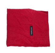 Dog's Companion Extra cover Red Corduroy Small