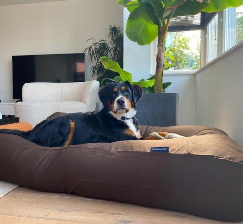 Dog's Companion Lit pour chien Chocolat Large