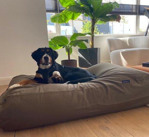 Dog's Companion Hundebett Flieder/Braun Extra Small