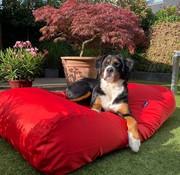 Dog's Companion Hondenbed Rood vuilafstotende coating
