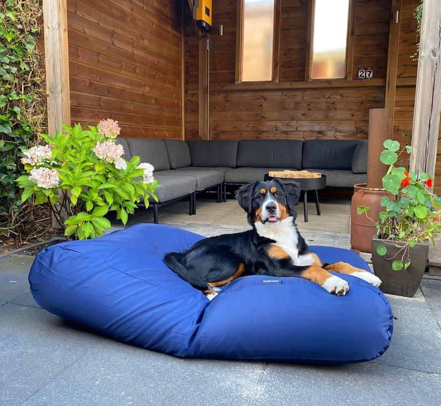 Lit pour chien Bleu Marine (coating) Medium
