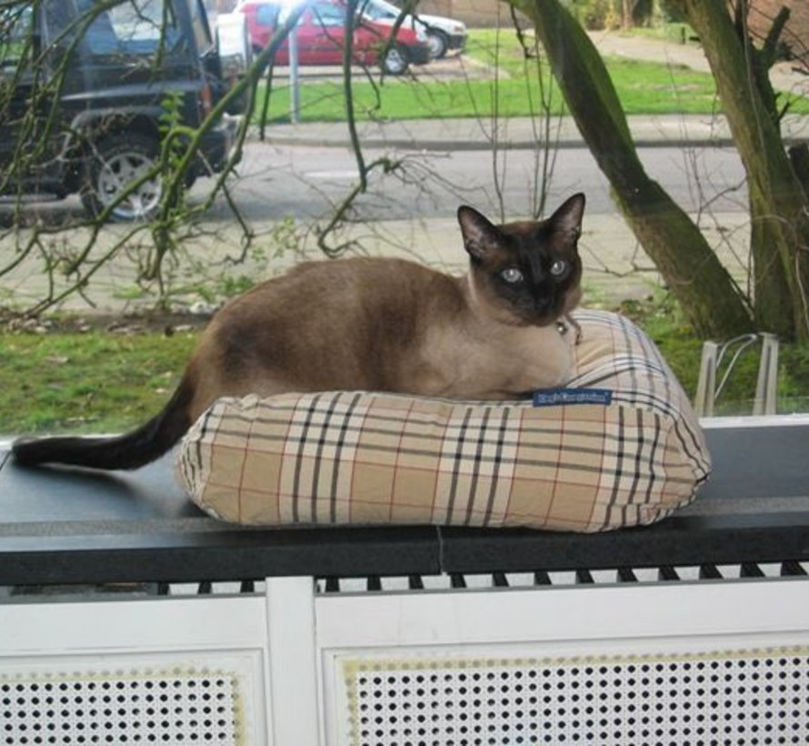 Coussin pour chat country field