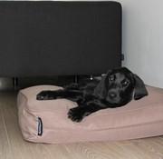 Dog's Companion Dog bed bench cushion taupe (68 x 62 x 10 cm)