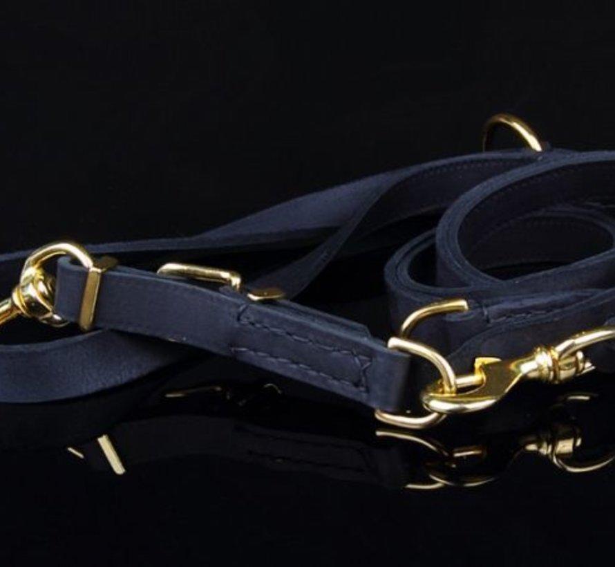 Verstellbare Hundeleine exklusiven Gold