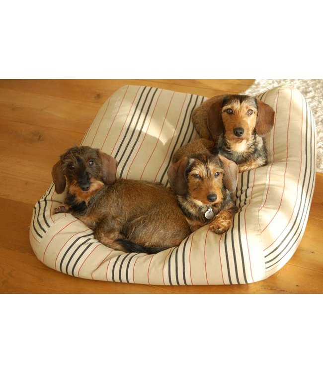Dog's Companion Dog bed Country Field (stripe)