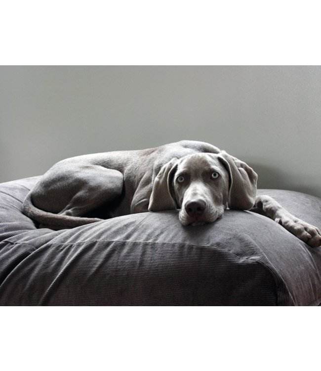 Dog's Companion Dog bed Mouse Grey (Corduroy)