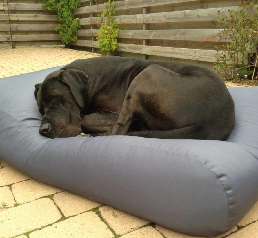 Hondenbed Staalgrijs vuilafstotende coating