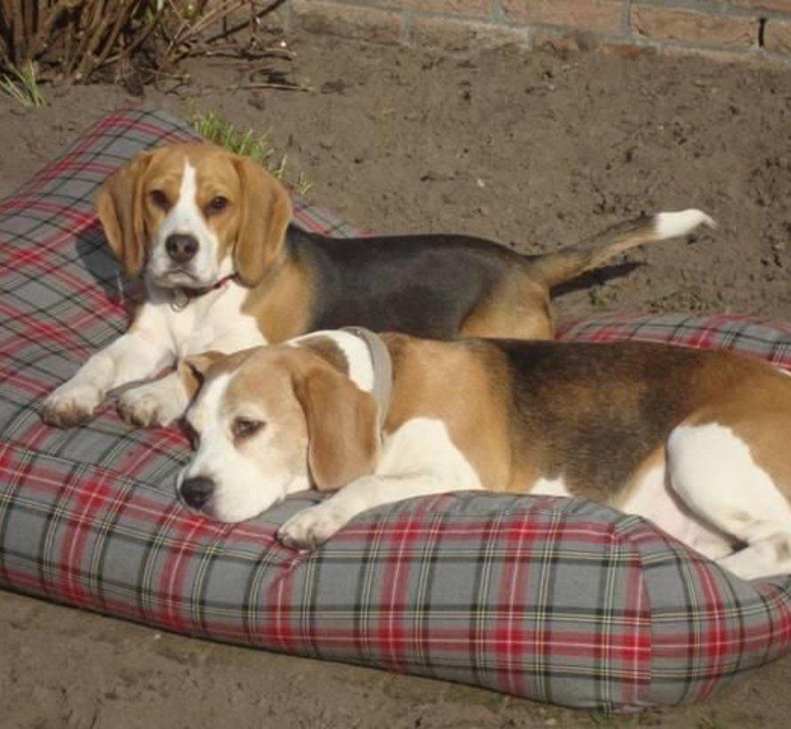Hundebett Scottish Grau Small