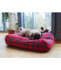 Dog's Companion Dog bed Royal Stewart Small