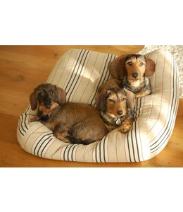 Dog's Companion Dog bed Country Field (stripe) Medium