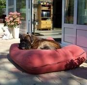 Dog's Companion Dog bed Brick-Red Superlarge