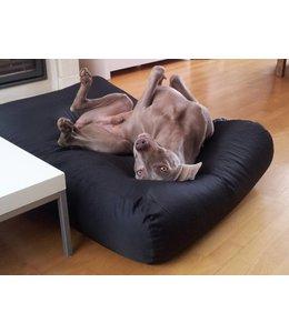 Dog's Companion Hondenbed Zwart vuilafstotende coating Superlarge
