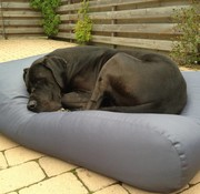 Dog's Companion Hondenbed Staalgrijs vuilafstotende coating Medium