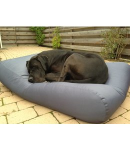 Dog's Companion Dog bed Steel Grey (coating) Medium